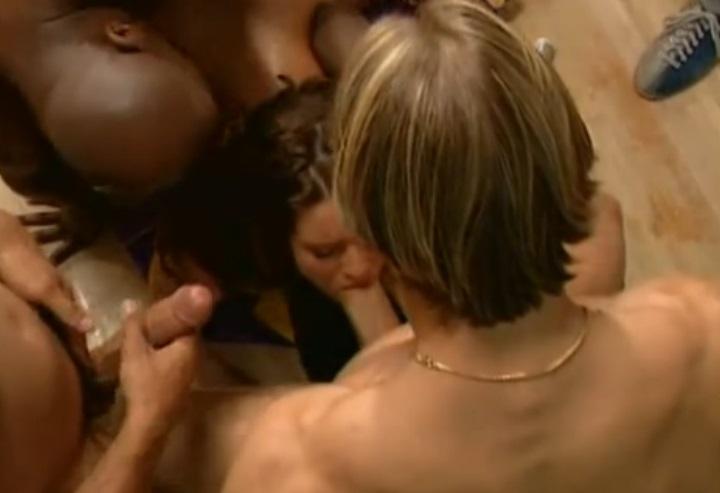 oriental, gangbang, bukkake, orgia, doble penetración, interracial